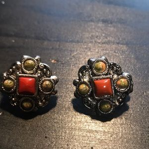 Premier Designs pierced or clip earrings